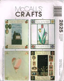 *2825 Sewing Pattern Wall Quilt Quilts Tulip Heart House