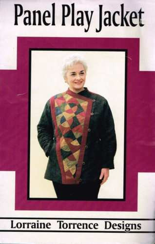 3280 Sew Pattern by Lorraine Torrence Designs the Panel Play Jacket XS S M L XL