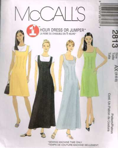 *2813 Sewing Pattern McCall's Ladies Jumper with Darts 4 6 8
