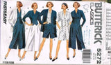 *5272 Sewing Pattern Butterick Culottes Blouse Jacket Shorts 12 14 16