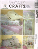 4073 Sewing Pattern McCall's Closet & Travel Accessories