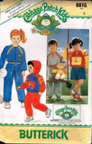 6810 Pattern Butterick Cabbage Patch Kids Jumpsuit Skirt Jacket 5 +Doll Jumpsuit