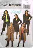 4623 Sewing Pattern Butterick Ladies Jacket Coat Pants Skirt Hat 18 20 22 24