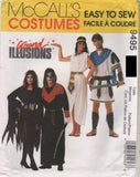 9495 Pattern McCall's Costume Adult Medium 36-38 Allura Skultar Cleopatra Marc