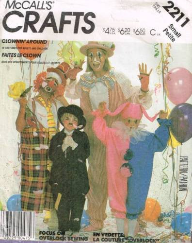*2211 Pattern Unisex Costume Clown Charlie Chaplin Adult Small