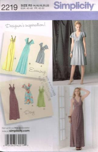 *2219 Sewing Pattern Ladies Evening Gown Wedding Bridal Dress 14 16 18 20 22