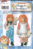 4471 Sewing Pattern Unisex Costume Raggedy Ann and Andy Kids 1/2, 1, 2