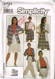 8721 Sewing Pattern Vintage Ladies Wardrobe 12