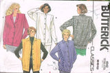 4042 Sewing Pattern Vintage Butterick Ladies Coat with Flanges 8 10 12