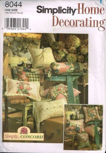 8044 Sewing Pattern Cushion Pillow