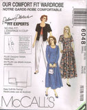 *6048 Sewing Pattern Ladies Palmer Pletsch Jacket Skirt Pants 10-12