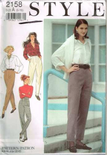*2158 Sewing Pattern Ladies Pants with Variations 6 8 10 12 14 16