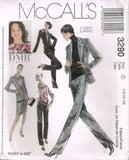 3290 Sew Pattern McCall's Ladies DMR Viewpoint Jacket Top Pants Skirt 10 12 14