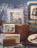 "*Cross Stitch Book Stoney Creek ""Finishing Touches"" Pillows Quilts Projects"