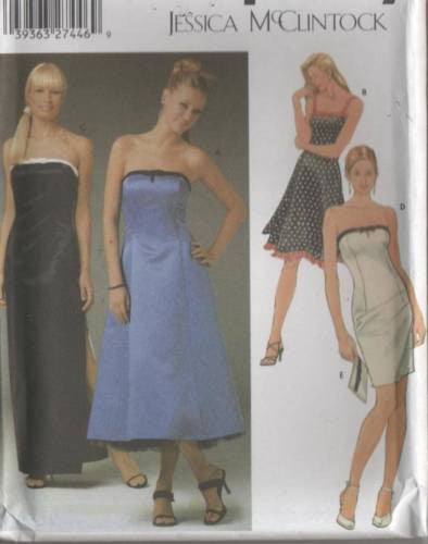 *5221 Sewing Pattern Ladies Wedding Bridal Grad Prom Grad Prom Gown Dress 3-10