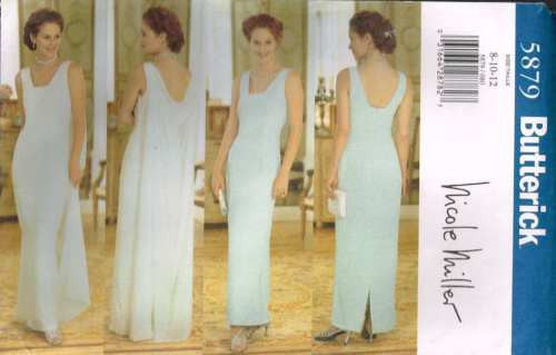 5879 Sewing Pattern McCall's Ladies Wedding Bridal by Nicole Miller 8 10 12