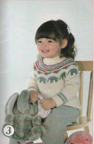 455 Knit Patterns Its A Party Kids Beehive Fair Isle Elephants