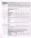 "7964 Sewing Pattern ""6 Made Easy"" Ladies Casual Dress 6 8 10"