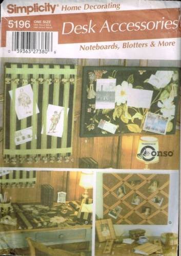 5196 Sewing Pattern Noteboards Blotters and More