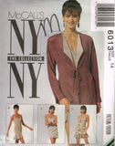 *6013 Sewing Pattern McCall's Ladies NY Collection Jacket Dress 14