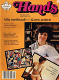 Hands May/June 1985 Crochet Bikini and Cover-up Carved Doll Quilt
