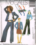 3732 Sewing Pattern McCall's Girls Junior NY NY Outfit 3/4 5/6 7/8 9/10