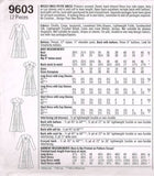 9603 Sewing Pattern Ladies Design your Own Dress wé Keyhole Back 12 14 16