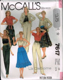7617 Sewing Pattern Vintage McCall's Ladies Wardrobe 10