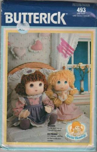 "*0493 Sewing Pattern Special Blessing Doll and Clothes 18"" Tall (Praying Hands)"
