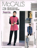 *2396 Sewing Pattern McCall's Ladies 3 Hour Jacket or Vest & Pants Choose Size