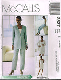 *2537 Sew Pattern McCall's Ladies Square Neck Dress Jacket Pants Top Choose Sizes
