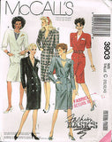 3903 SewPattern Vintage McCall's Ladies Double Breasted Dress 6-8-10 or 10-12-14