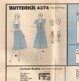 *4374 Pattern Vintage Butterick Ladies Dress and Jacket choose size 10 or 12