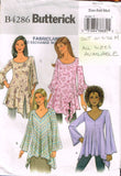 4286 Sewing Pattern Butterick Ladies Blouse XS S M  *CUT OUT*