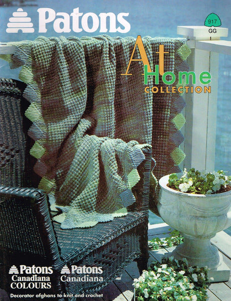 *917 Knit & Crochet Patterns Afghan Afghans Many Different Patterns