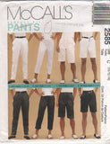 "*2585 Pattern McCall's Ladies Pants ""Perfect Fit 8-10-12 or 10-12-14 or 12-14-16"