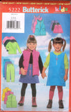 6974 Sew Pattern Butterick Kids Pajamas Karate Kimono Bath Robe 2-3-4 or 5-6-6X