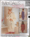 "9344 Pattern McCall's Ladies ""Palmer Pletsch"" Dress Jacket Sizes  12 or 18 or 24"