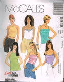9348 Sewing Pattern McCall's Ladies Camisole choose sizes XS-S or M-L
