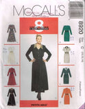 8920 Sewing Pattern McCall's Ladies 8 Great Dress one Easy Pattern 10 12 14