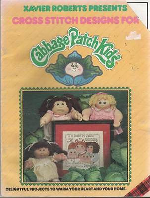 *Cross Stitch Pattern Xavier Roberts Cabbage patch Kids
