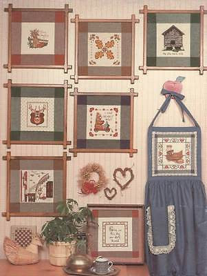 *Cross Stitch Pattern Canterbury Designs Hopscotch Country Scenes
