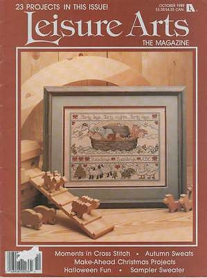 *Cross Stitch Magazine Leisure Arts Noah's Ark Afghan