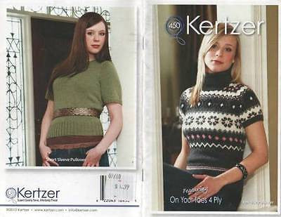 Knitting Kertzer Fair Isle Ladies Pullover Sweater Swaters 36 38 40 42 44