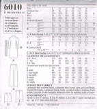 6010 Sewing Pattern New Look Ladies Dress Blouse Skirt Jacket Pants 8 10 12 14 1
