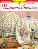 "Cross Stitch Pattern ""Patchwork Sweaters"" Embroidered on Purchased Sweater"