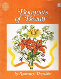*13 Cross Stitch Pattern Book by Gloria & Pat 13 `Bouquets of Beauty Flowers