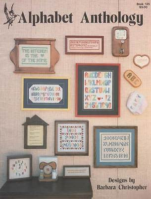 *135 Cross Stitch Pattern Alphabets Alphabet Anthology Samplers Sampler
