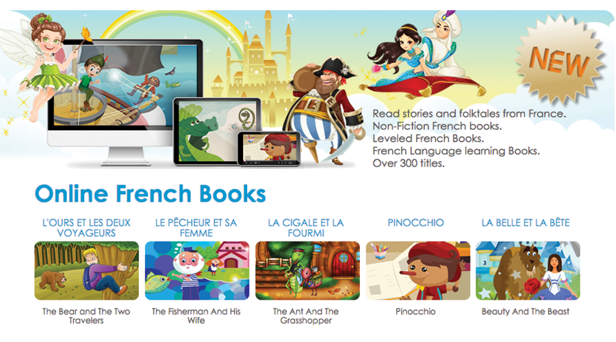 online french books