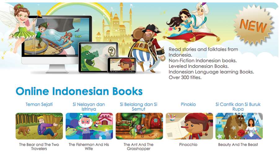 online indonesian books